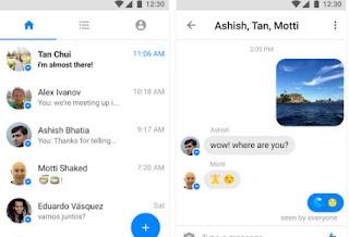 facebook messenger leggero