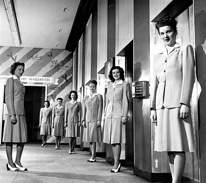 Девушки-Лифтеры