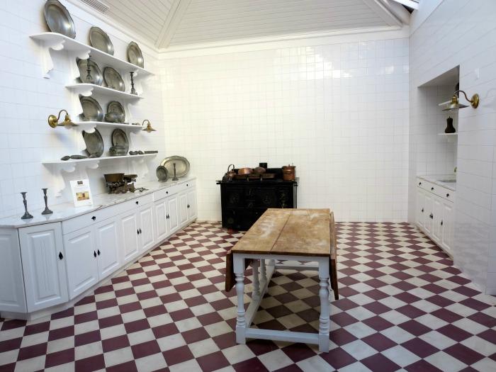 Casa da Ínsua - old kitchen