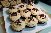 Chocolate Cupcakes with Penuche Frosting