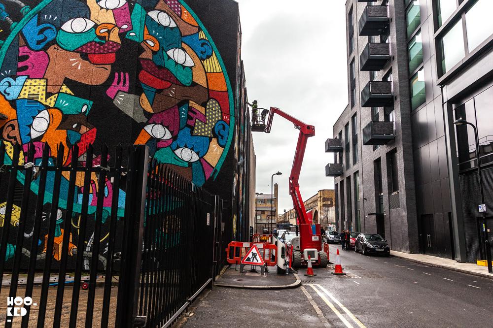 Hunto And Mister Thoms - Shoreditch Street Art