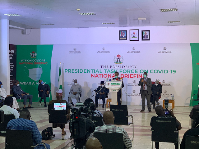 COVID-19: FG extends phase 2 of the eased lockdown for another four(4) weeks