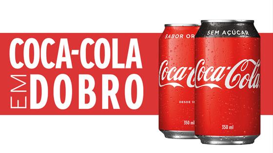Coca-Cola em Dobro Resgate Seu Cupom