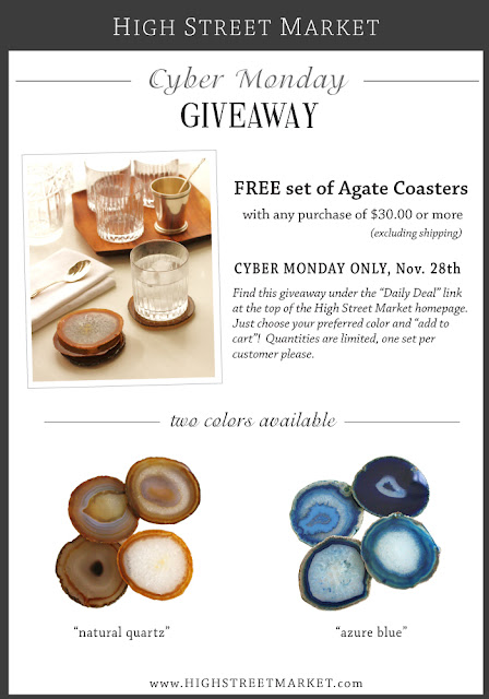 High Street Market Cyber Monday Giveaway
