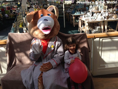 Breakfast with the Easter Bunny at Findon (Worthing) Garden Centre