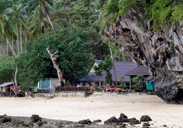 Freedom Bar de Tonsai Beach, en la península de Phra Nang