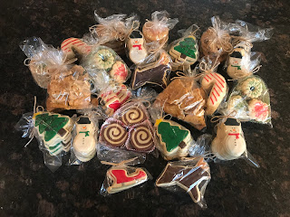 christmas cookie orders, sugar cookies,