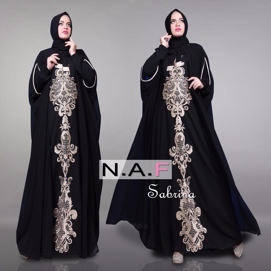 SABRINA by NAF | Distributor Gamis Modern Modis Tuneeca ...