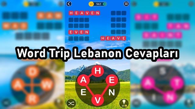 Word Trip Lebanon Cevaplari