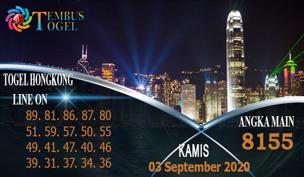 Angka Jitu Togel Hongkong Kamis 03 September 2020