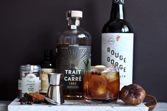 gin-quebecois-cocktail,trait-carre-1665,recette,ail-noir-genievre,madame-gin,cocktail