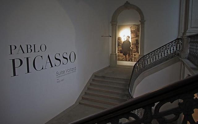 entrada da exposição Suite Vollard