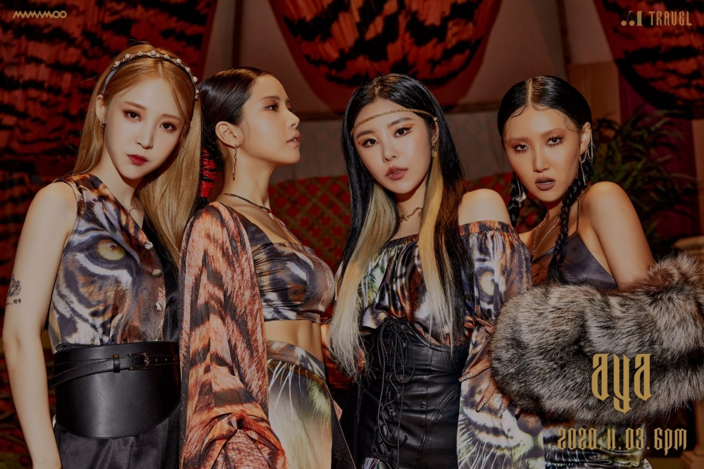 MAMAMOO Looks Fierce and Courageous in 'TRAVEL' Teaser Photo