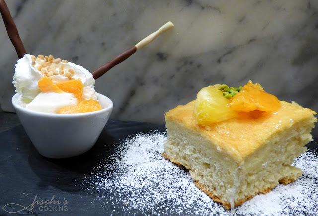 fischiscooking, orangen - grieß kuchen