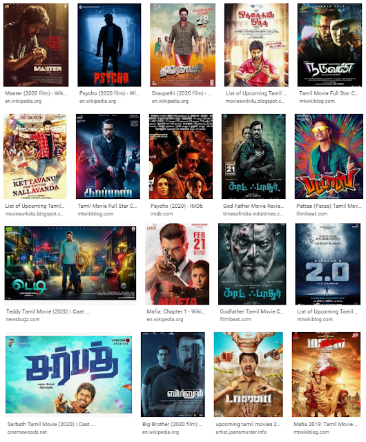 2020 Tamil Hit And Flop Movie List