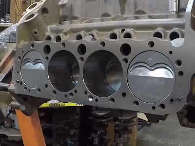 Flat-Crank Chevy Engine