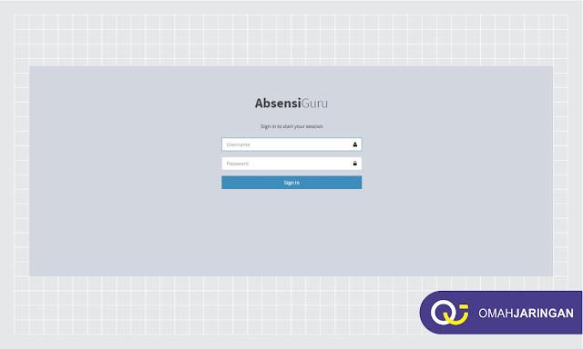 User Guru Login Review Aplikasi Absensi Guru Berbasis Web PHP, MySQL, dan Codeigniter