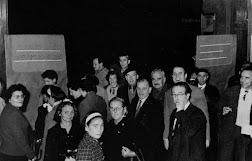 Castanyada al vestíbul dels Magatzems Jorba l'any 1959. Arxiu: Ignasi Rubinart