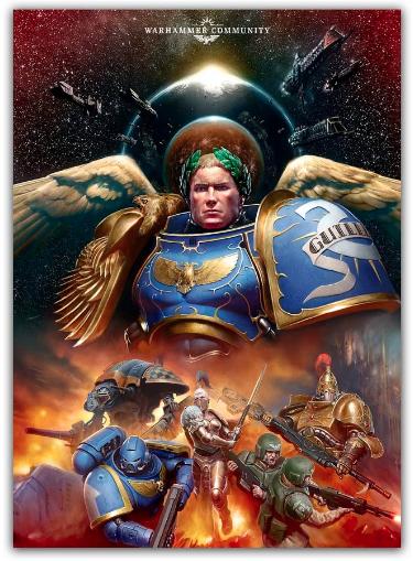 Roboute Guilliman Lord Comandante del Imperio