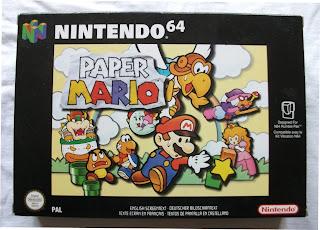 Paper Mario - Caja delante