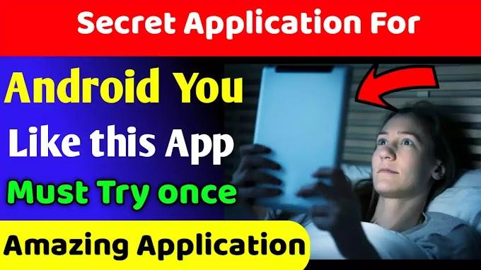Most Secret Hidden Application For Android, Techy Shreeram