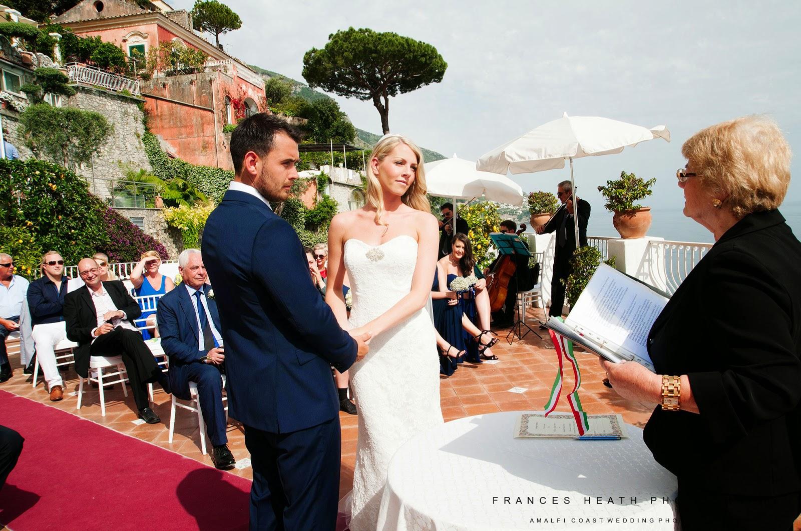 Symbolic ceremony at Hotel Marincanto in Positano