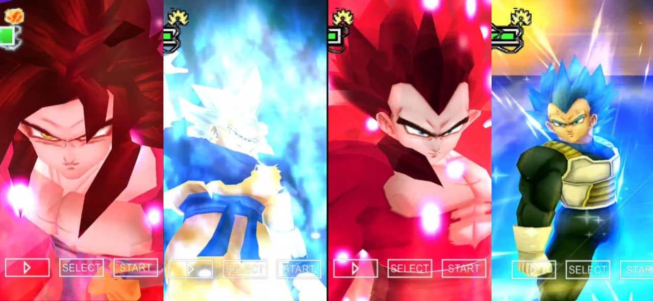 Super Dragon Ball Heroes Goku and Vegeta