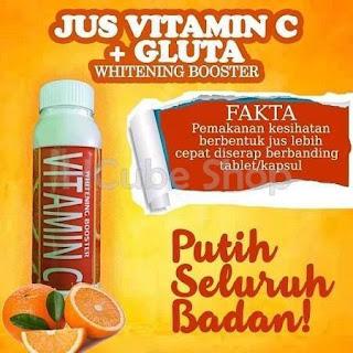 JUS VITAMIN C + GLUTA WHITENING BOOSTER