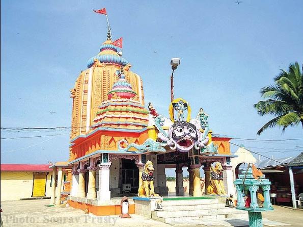 Full View of Maa Dhamara Temple