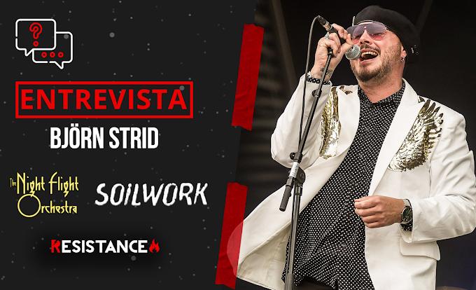 """#Entrevista con Björn Strid (Soilwork, The Night Flight Orchestra) :""""Teníamos que hacer algo distinto, más exótico"""""""