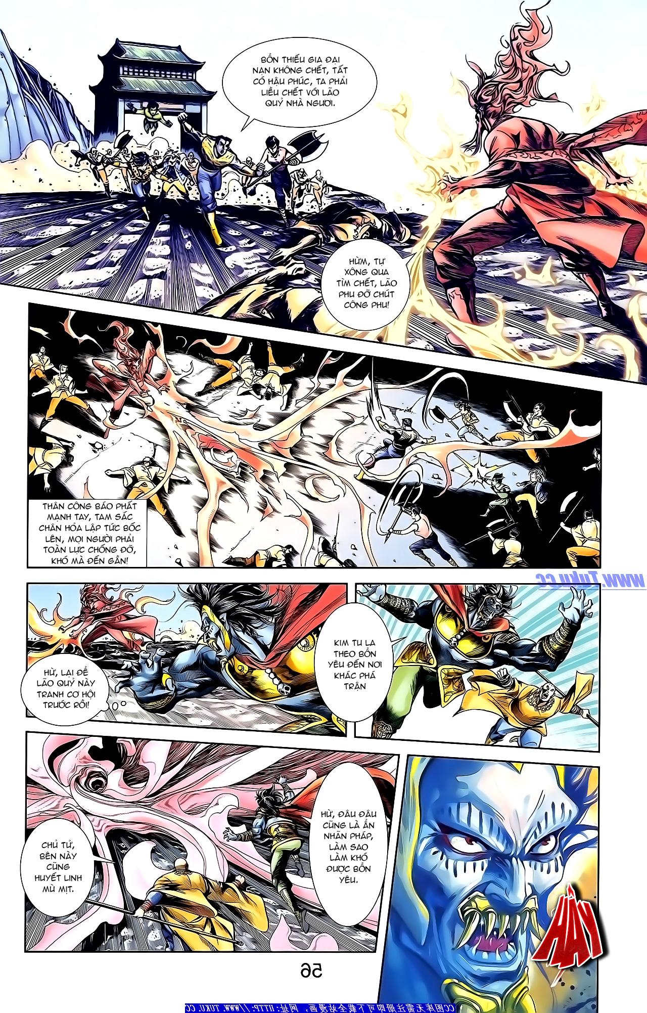 Cơ Phát Khai Chu Bản chapter 154 trang 14