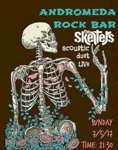 THE SKELTERS: Κυριακή 7 Μαΐου unplugged  @  Andromeda cafe bar (Χαλάστρα)
