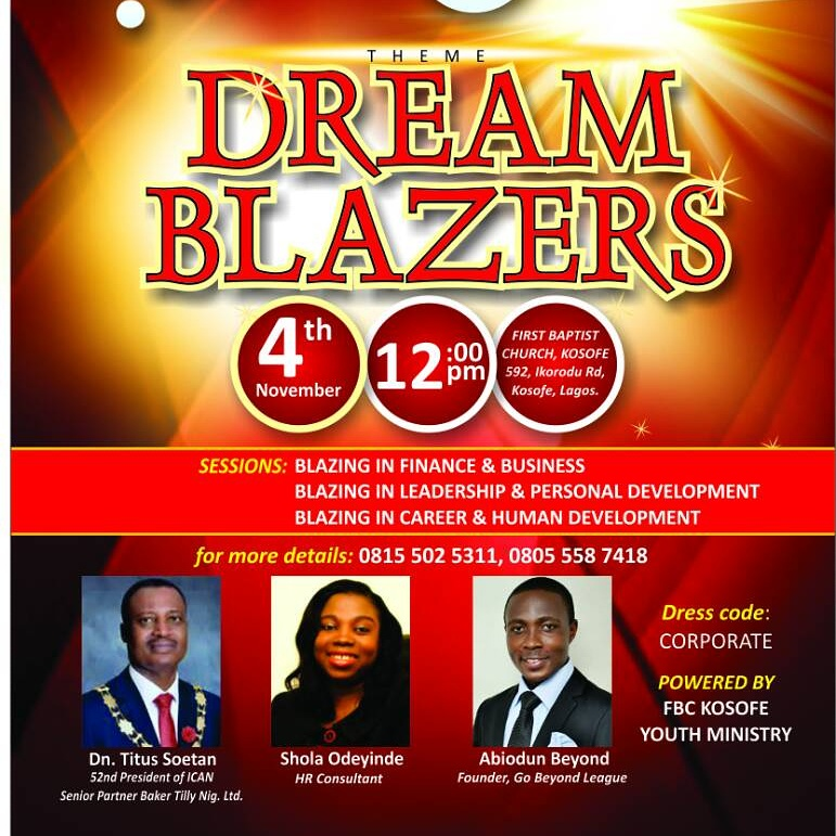 The Dream Blazers' Conference