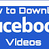 How to Download Facebook Videos on Mobile, PC or Laptop Online