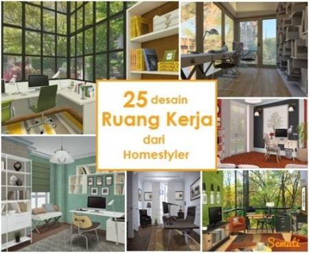 25 Desain Ruang Kerja - Pilihan dari Homestyler