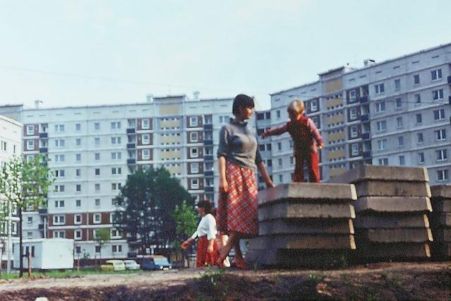 1988 год. Рига. Золитуде. На улице Русес