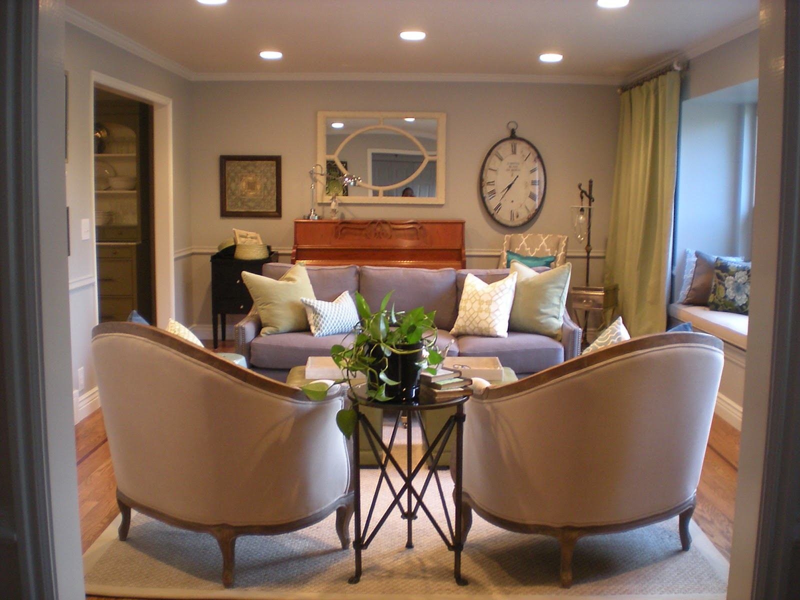 sitting room and dining room designs | design dump: before + after: formal living room dining ...