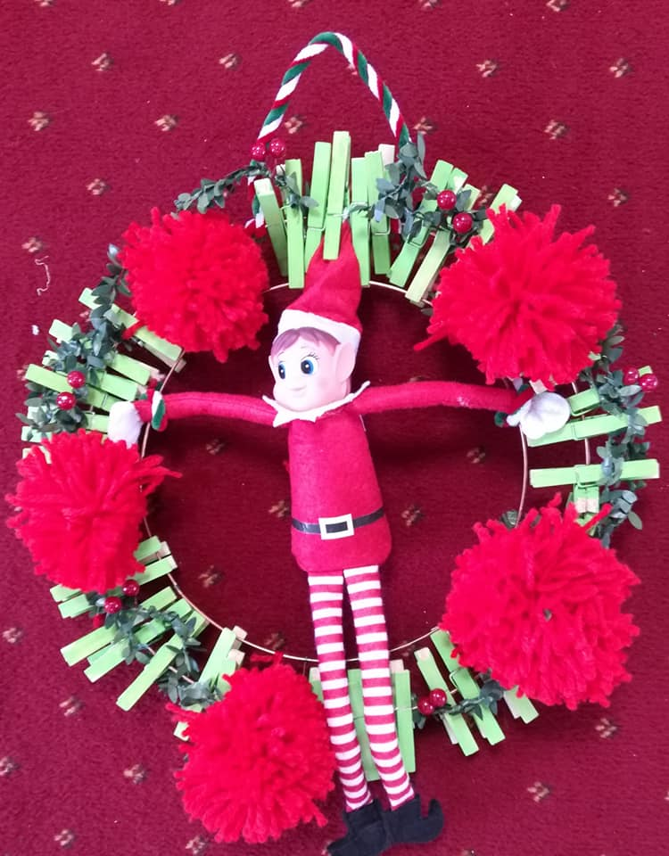 HobbyCraft and Others - Christmas Wreath