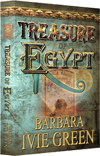 http://www.amazon.com/Treasure-Egypt-adventure-Romantic-Ancients-ebook/dp/B004NSV8JC/ref=sr_1_3?s=digital-text&ie=UTF8&qid=1433949439&sr=1-3&keywords=barbara+ivie+green