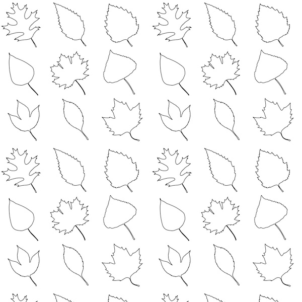 fall leaves coloring pages for kindergarten. Black Bedroom Furniture Sets. Home Design Ideas