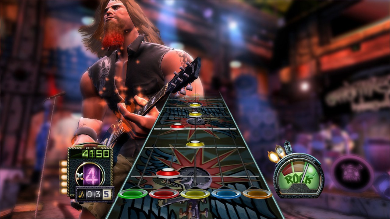 Guitar Hero III Legends of Rock 2 - Guitar Hero 3 Legends Of Rock (PS2) (NTSC)