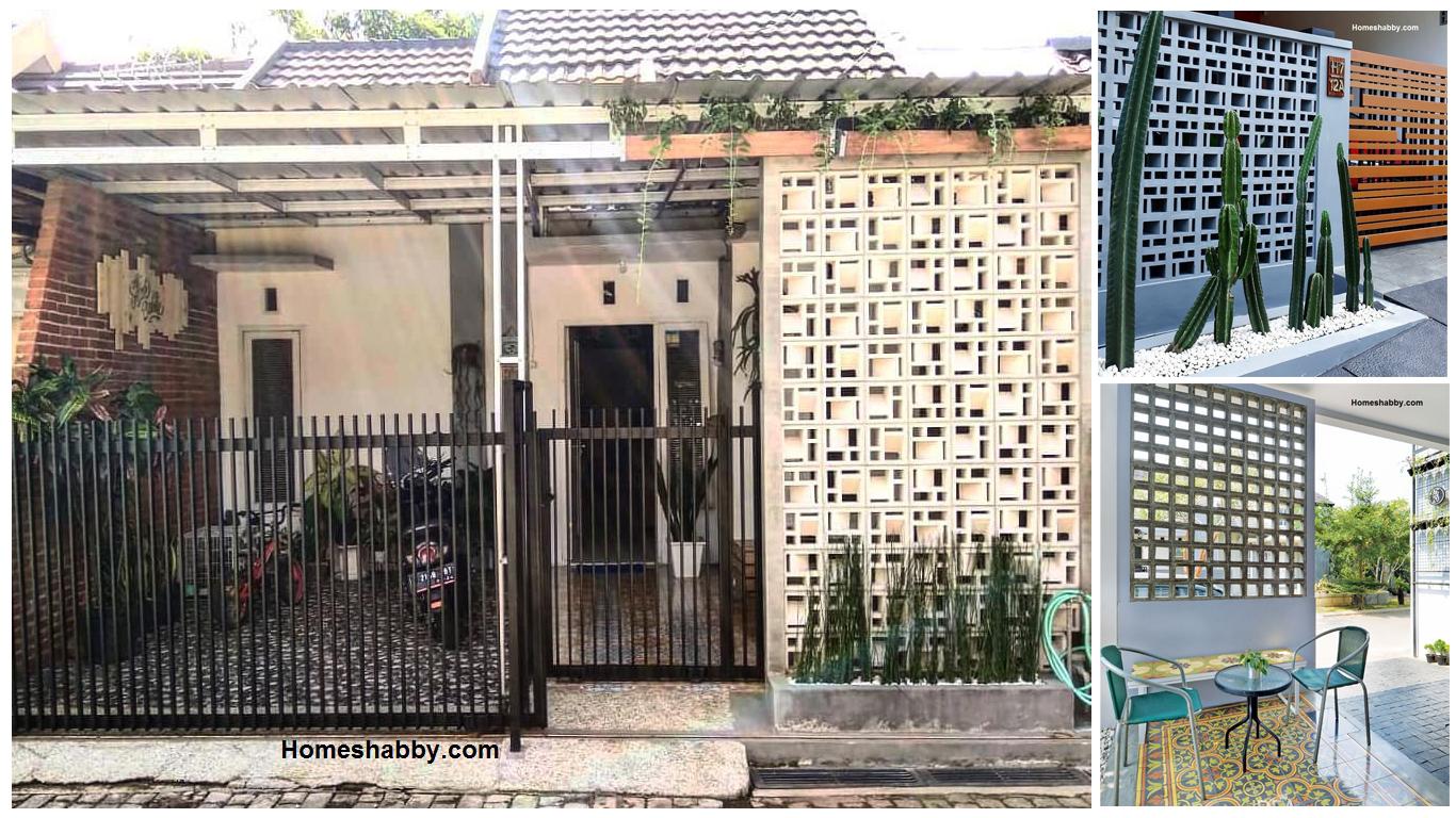 6 Model Populer Pagar Roster Minimalis Hemat Biaya, Rumah Lebih Elok Di  Pandang ~ Homeshabby.com : Design Home Plans, Home Decorating And Interior  Design