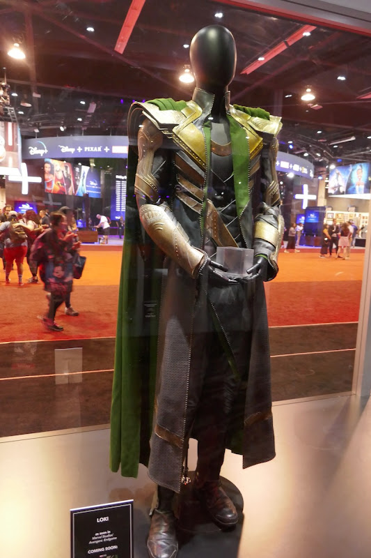 Tom Hiddleston Avengers Endgame Loki costume