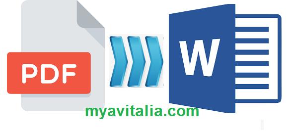 Mudah Sekali 5 Cara Merubah File Pdf Ke Word Offline Online Baik Dari Pc Laptop Ataupun Hp