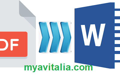 Mudah Sekali! 5+ Cara Merubah File PDF ke Word-offline-online baik dari PC/laptop ataupun HP