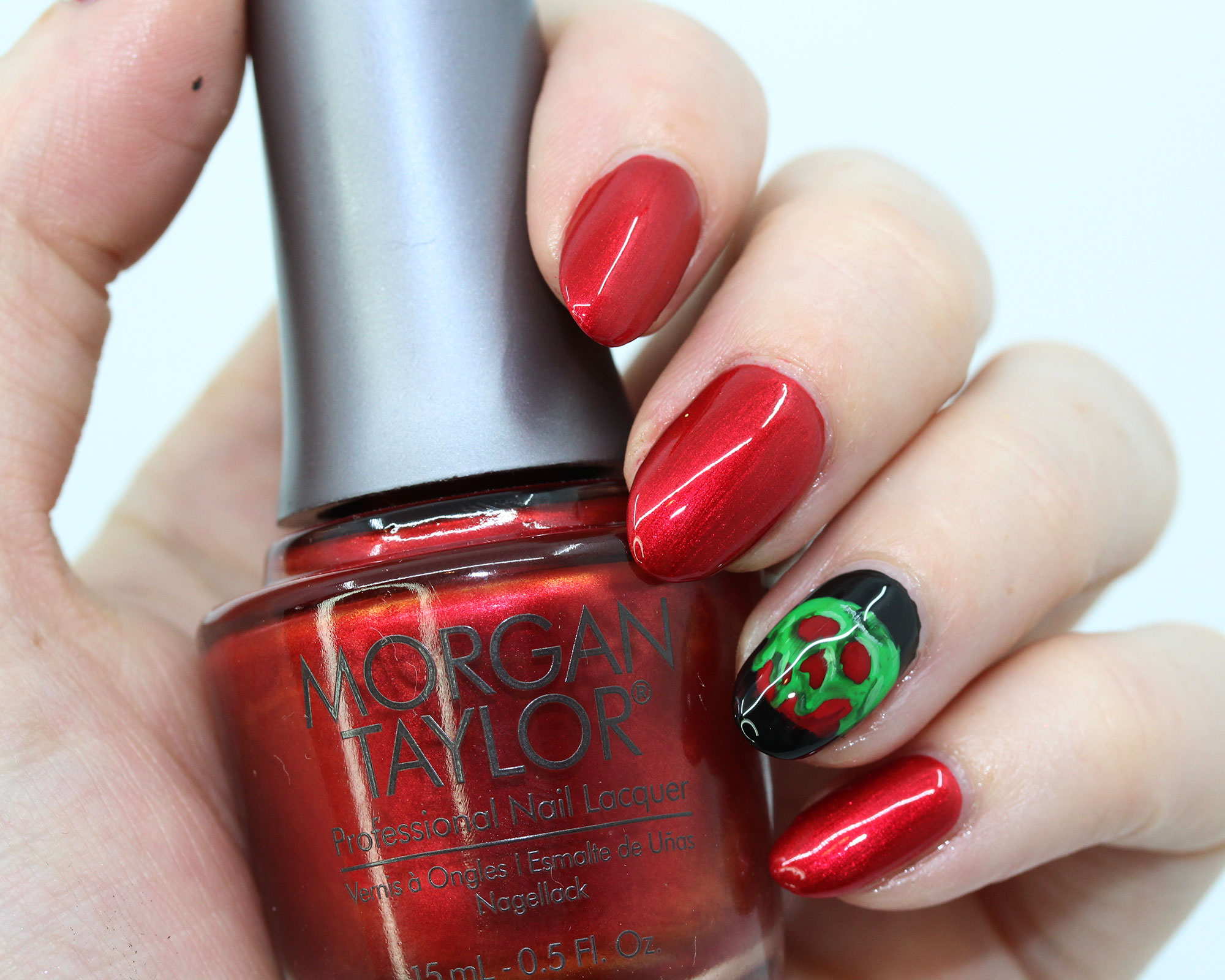Morgan Taylor Just One Bite - Disney Evil Queen inspired nail polish