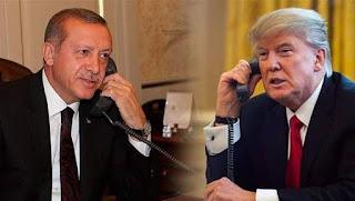 هاتفيا.. أردوغان وترامب يبحثان الأزمة في إدلب
