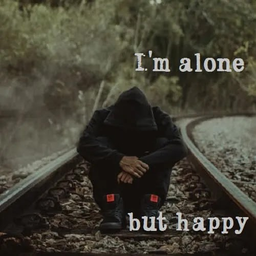 I am alone DP for boys