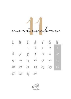 Calendario noviembre- opo_sitiva