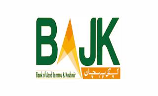 BAJK Bank of Azad Jammu & Kashmir Jobs 2021 in Pakistan